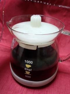 レンジで作れば、超簡単!~ダイエットプーアール茶