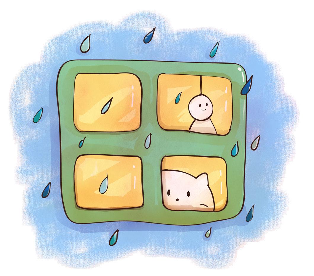 風水では「雨の日」は浄化の日。運気を上げる「4つの方法」とは?