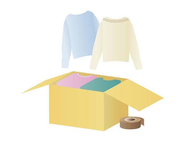衣替えの時に服を断捨離するコツ。服と向き合えば答えは見つかる。